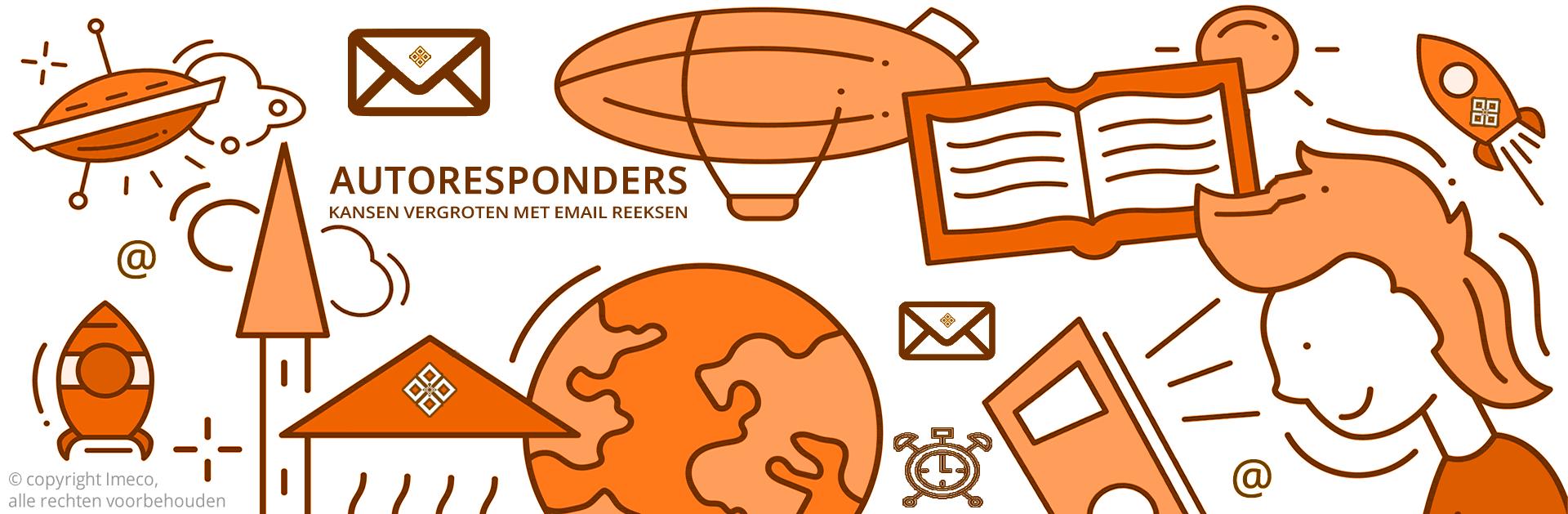 Weergave van automatische emails middels autoresponders