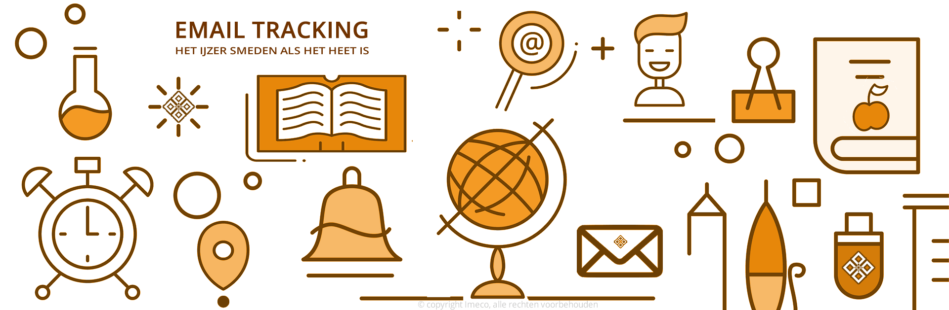 Weergave van email tracking systemen