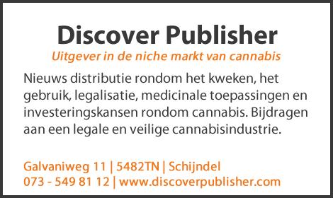 Uitgever in de niche markt van cannabis