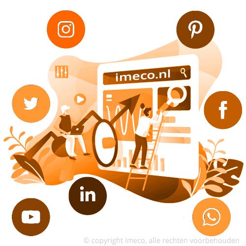 Social media optimalisatie verbetert de reputatie, bereik, bewustzijn, verkeer en verkopen