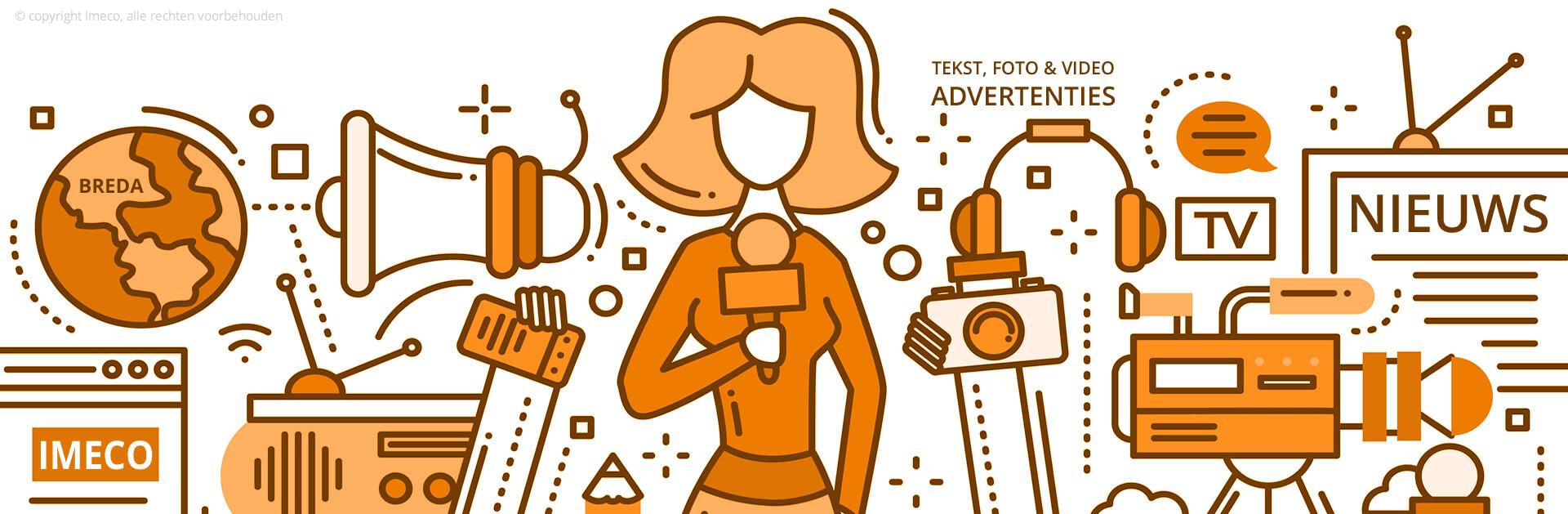 Tekst, foto en video advertenties